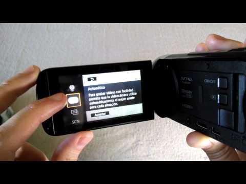 VIDEOCÁMARA Canon LEGRIA HF R406 (Español) Unboxing+Video+Conclusiones