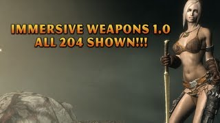 Skyrim Mod of the Day - Episode 134: All Immersive Weapons Shown!