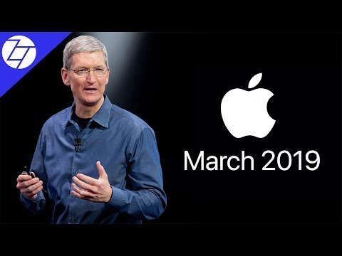 7 Things to Expect - Apple March 2019 Event