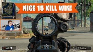NICE 15 KILL WIN! | Black Ops 4 Blackout | PS4 Pro