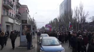Митинг в Донецке 07 02  2014