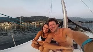 26. Sailing to Budva and Sveti Stefan in Montenegro | Boat Problems | Checking into Croatia | Sail