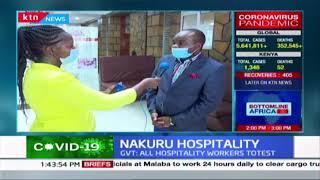 Nakuru hospitality: All Nakuru county hospitality workers to get free testing