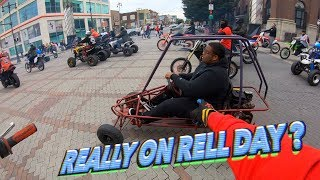 HE REALLY RODE THIS ON RELL DAY ! (HE'S INSANE)