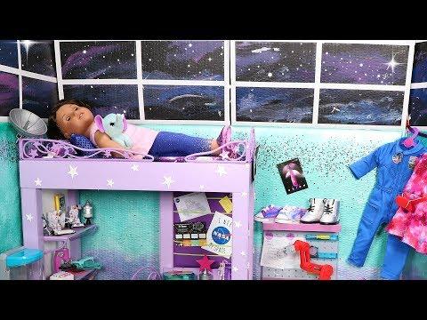 American Girl Doll Galaxy Bedroom