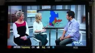 preview picture of video 'Sugar Sammy rit de Shawinigan a Salut bonjour le 6 janvier 2012. Vraiment très drole.'