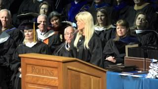 2014 Outstanding Graduating Senior, Elin Nordegren, Commencement Speech