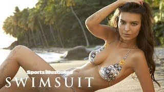 Emily Ratajkowski Best Moments: Steamy St. Lucia, Body Painting & More | Sports Illustrated Swimsuit