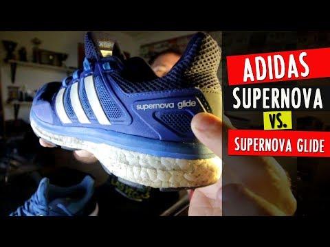 big sale 29a4d 59a3b Comparativa  ADIDAS SUPERNOVA (9) vs. SUPERNOVA GLIDE (8)