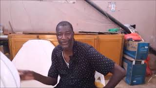 Diego, maître voilier au Sénégal