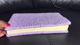 Easy Crochet Book Cover 2