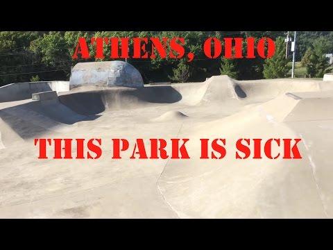 Athens, Ohio skatepark