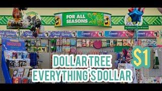 DOLLAR TREE STORE WHERE EVERYTHING'S DOLLAR | DOLLAR TREE