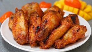 Spicy Mango Chicken Wings - YouTube
