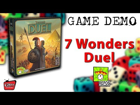 7 Wonders Duel by Repos Production: Game Demo