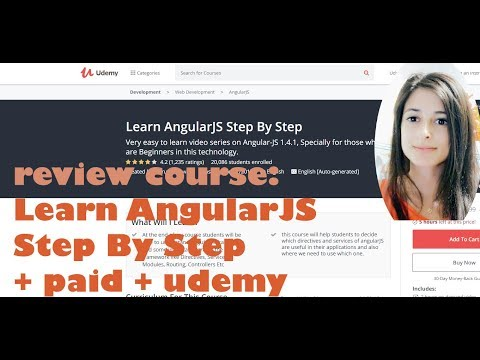 Learn AngularJS Step By Step - Paid | Reviewing online tech courses