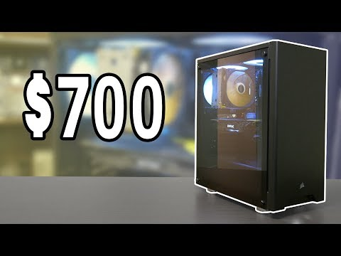 2019 Ryzen $700 Gaming PC