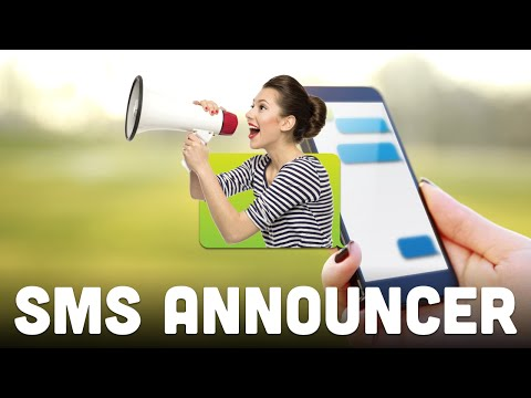 Video of SMS Announcer