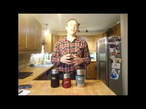 Vacuum Bottle Test Stanley vs  Thermos