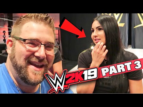 Download Grim Spills Water On Billie Kay At WWE Performance Center - Is WWE 2k19 Fun To Play? HD Mp4 3GP Video and MP3