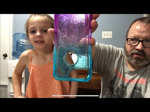 glitter iPhone case unboxing.