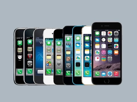 The Apple's iPhone : History from 2007 to 2017