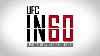 UFC in 60: Pride of a Nation - Italy Pt. 1 | Tune in Mon. at 5 p.m. ET on Fight Network