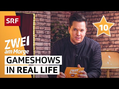 Gameshows in Real Life – mit Sven Epiney | Zwei am Morge