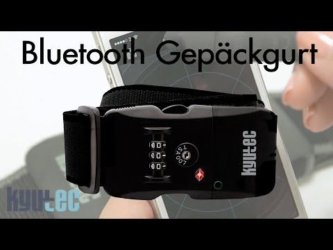 Bluetooth Gepäckgurt - Bluetooth Luggage Belt - Kyutec KT1039 - best-koffer