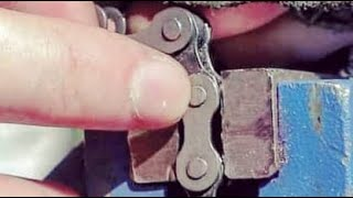 How to break a bike chain (without a chainbreaker)