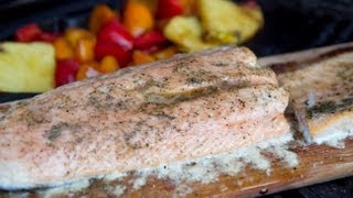 Maple Lemon Glazed Salmon