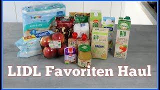 Meine 10 Liebsten Lidl Produkte I Favoriten Haul I Mamabirdie