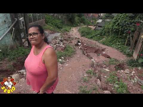 Ilda Moradora da Rua José Galdino na Favela do Justinos pede Compaixão para o Prefeito Ayres Scorsatto