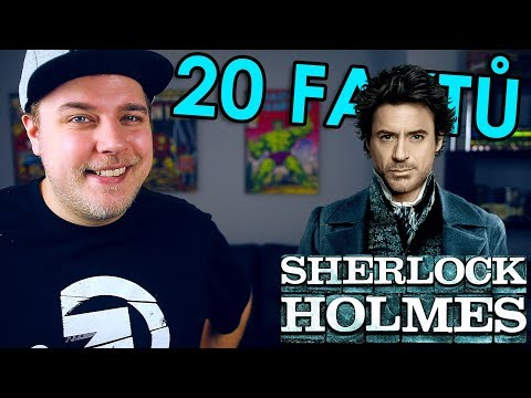20 FAKTŮ - Sherlock Holmes