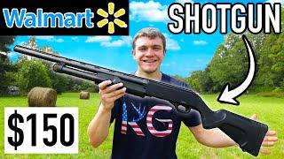 TESTING the Cheapest Hunting SHOTGUN at Walmart! (Safe Range Test & Hunt)