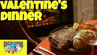 The Most Romantic Valentine's Dinner for my Wife - Steak and Lobster