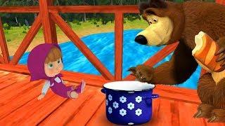 Маша и Медведь Masha and The Bear МАША плюс КАША игра #1  Приключения Маши #ГАМИКС