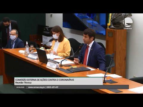 Comissão Externa de Ações contra Coronavírus - Medicamentos sedativos - 24/06/20 - 14:24