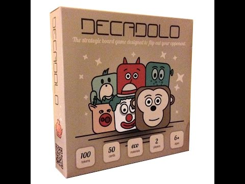 Decadolo Review - Beards and Board Games