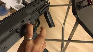 Гидробол пистолет пулемет MP7 скорость выстрела