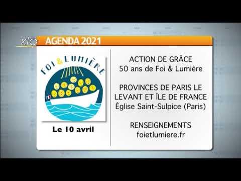 Agenda du 2 avril 2021