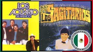 LOS ACUARIO y LOS SAGITARIOS GRANDES EXITOS Sus Mejores Canciones