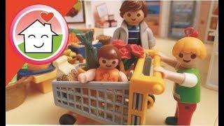 Playmobil Film Deutsch Familie Hauser Geht Einkaufen