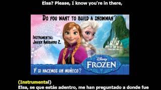 Frozen - Do You Want to Build a Snowman? (Karaoke) (Instrumental: Javier Anibarro Z.)
