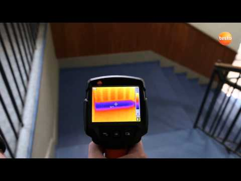 Thermography in the building sector with the thermal imager testo 870