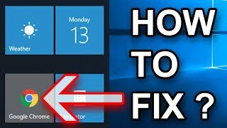 Fix Google Chrome Icon Background In Windows Start Menu UPDATED
