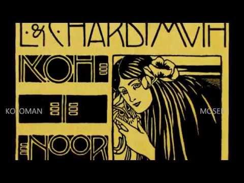 JUGENDSTIL WIEN Vienna Secession Graphic VER SACRUM Klimt Moser Hoffmann - YouTube