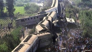 Train crew detained following Friday's fatal collision in Egypt