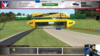 #iRacing #TopSplit VRS GT #Week 11 - Road America #PH #AgoraVai