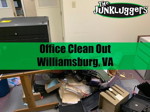 Office Clean Out and Furniture Removal in Williamsburg, VA